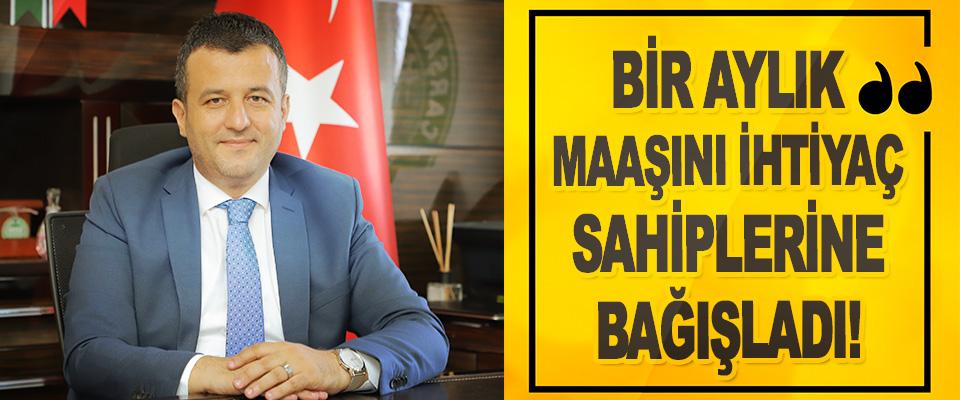 Çarşamba Belediye Başkanı Halit Doğan: Bir Aylık Maaşını İhtiyaç Sahiplerine Bağışladı!