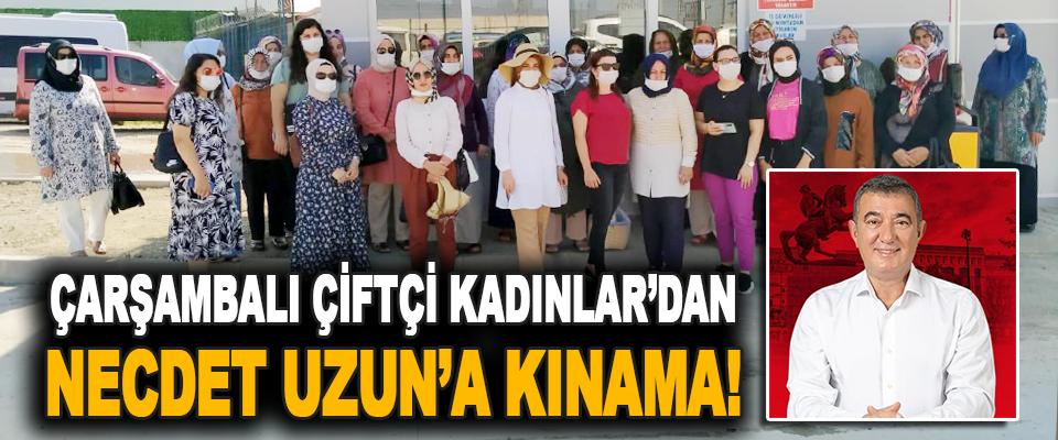 Çarşambalı Çiftçi Kadınlar'dan Necdet Uzun'a Kınama!