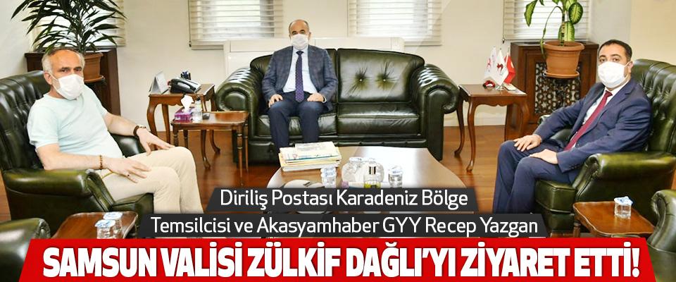 Diriliş Postası Karadeniz Bölge Temsilcisi ve Akasyamhaber GYY Recep Yazgan Samsun Valisi Zülkif Dağlı'yı Ziyaret Etti!