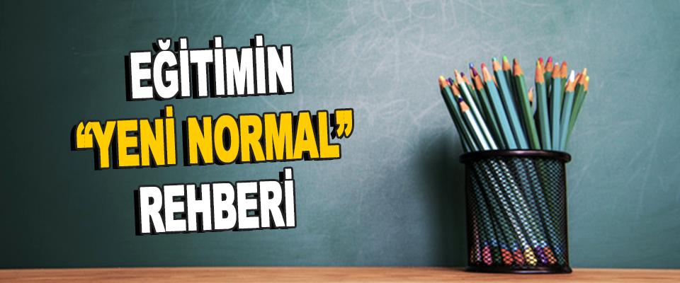 """Eğitimin """"Yeni Normal"""" Rehberi"""
