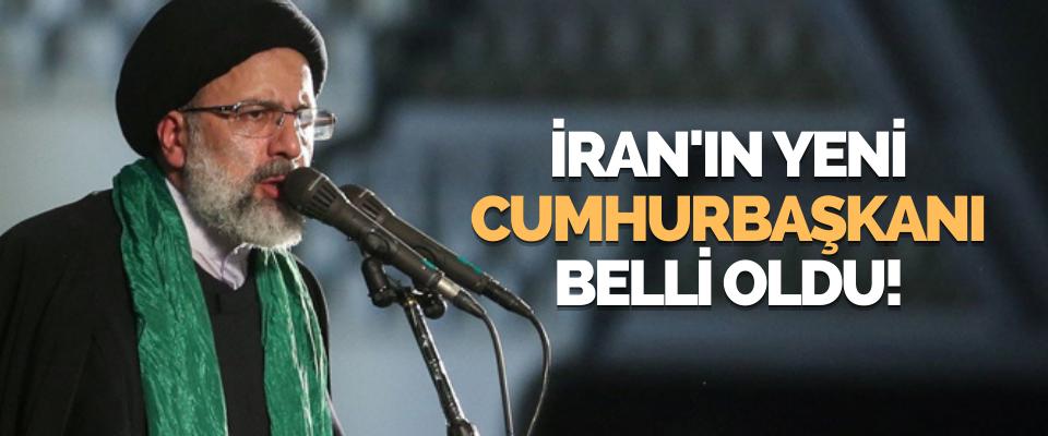 İran'ın Yeni Cumhurbaşkanı Belli Oldu!