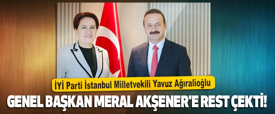 İYİ Parti İstanbul Milletvekili Yavuz Ağıralioğlu Akşener'e Rest Çekti!