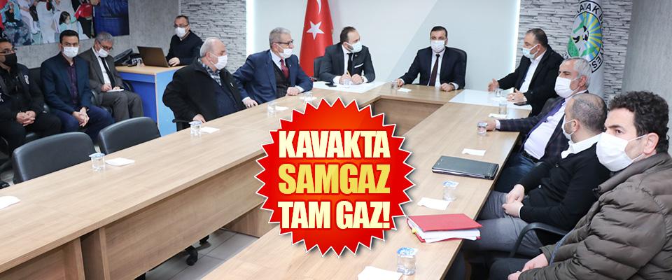 Kavakta Samgaz Tam Gaz!