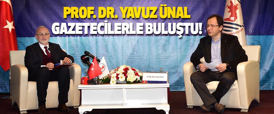 OMÜ Rektörü Prof. Dr. Yavuz Ünal Gazetecilerle Buluştu!