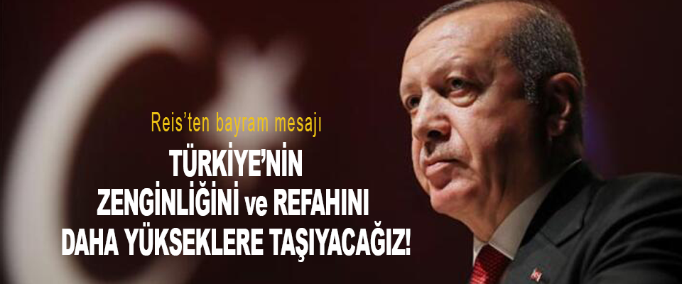 Salgından hemen sonra Türkiye'nin gücünüi zenginliğini ve refahını çok daha yükseklere taşıyacağız!
