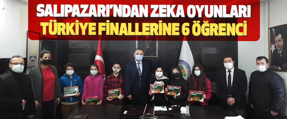 Salıpazarı'ndan Zeka Oyunları Türkiye Finallerine 6 Öğrenci