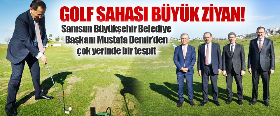 Samsun Büyükşehir Belediye Başkanı Mustafa Demir