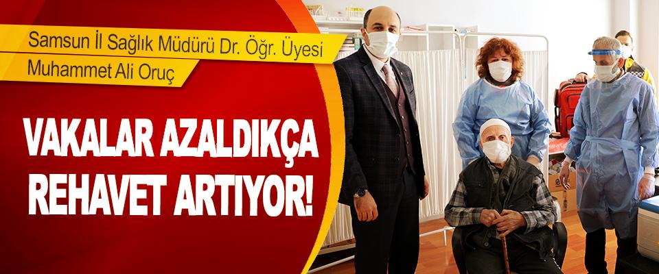 Samsun İl Sağlık Müdürü Dr. Öğr. Üyesi Muhammet Ali Oruç