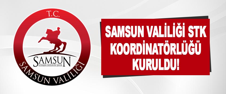 Samsun Valiliği STK Koordinatörlüğü Kuruldu!