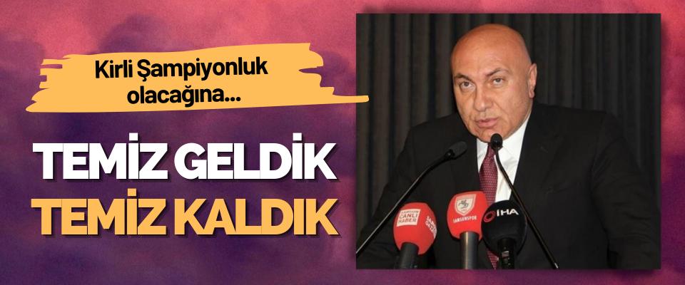 Samsunspor Başkanı Yüksel Yıldırım