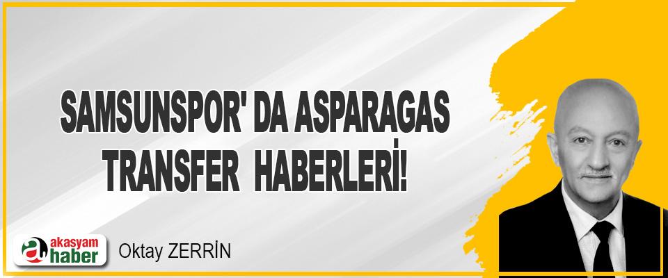 Samsunspor' da Asparagas Transfer Haberleri !