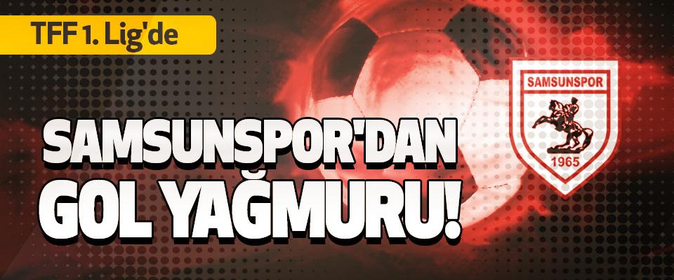 Samsunspor'dan  Gol Yağmuru!