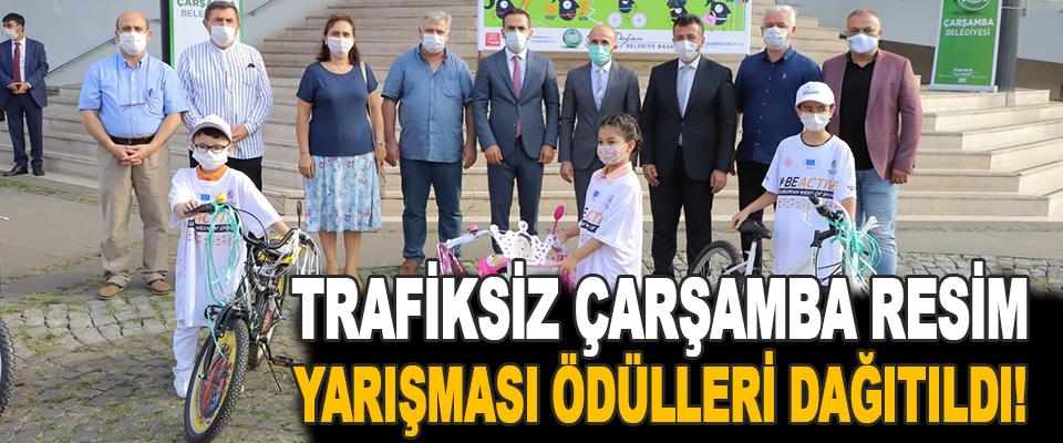 Trafiksiz Çarşamba Resim Yarışması Ödülleri Dağıtıldı!