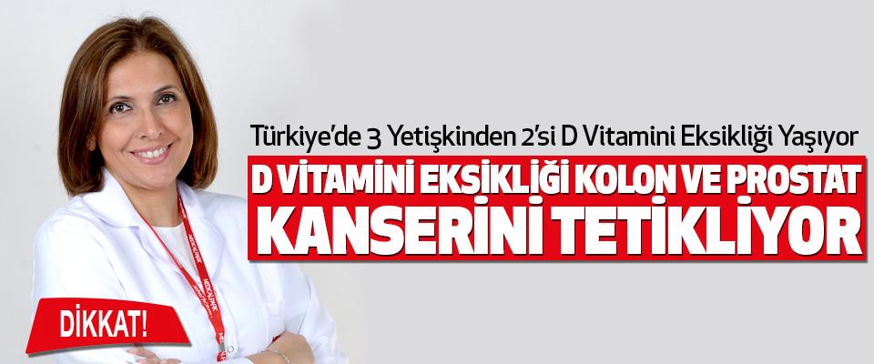 Türkiye'de 3 Yetişkinden 2'si D Vitamini Eksikliği Yaşıyor
