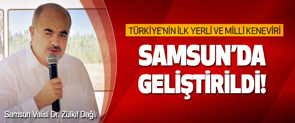 Türkiye'nin İlk Yerli ve Milli Keneviri Samsun'da Geliştirildi!