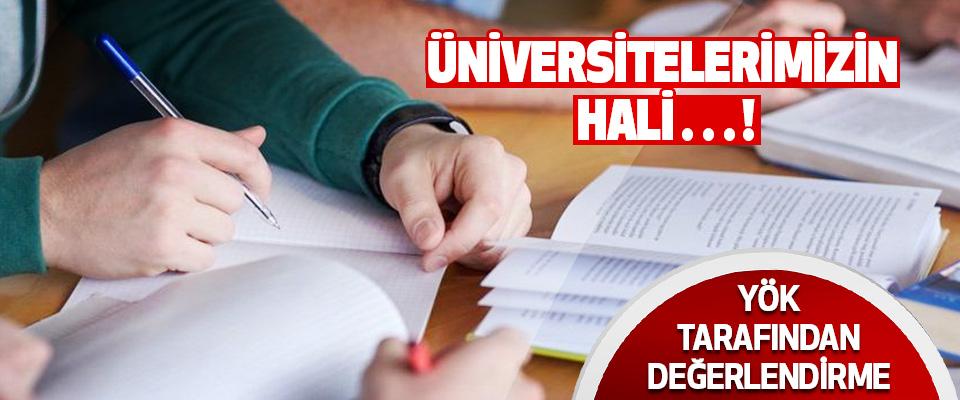 Üniversitelerimizin Hali…!