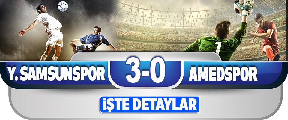 Yılport Samsunspor 3-0 Amed Sportif Faaliyetler
