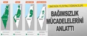 Omü'nün Filistinli Öğrencileri Bağımsızlık Mücadelelerini Anlattı