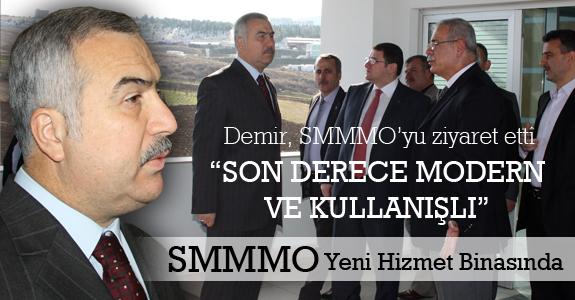 SMMMO yeni binasında hizmete başladı