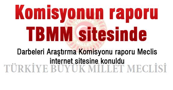 Komisyonun raporu TBMM sitesinde