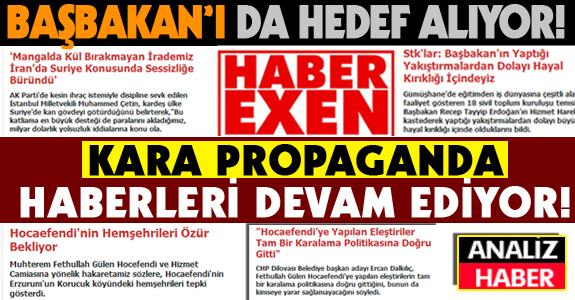 HABEREXEN KARA PROPAGANDA HABERLERİNE DEVAM EDİYOR!