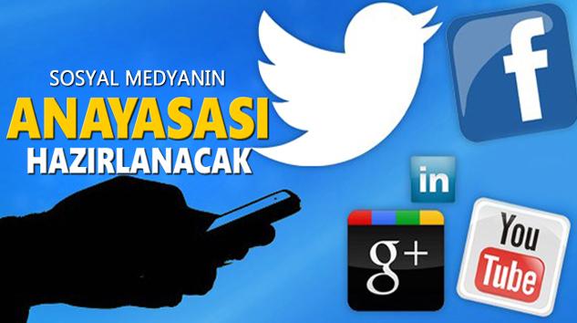 Sosyal Medyanın 'Anayasası' Hazırlanacak