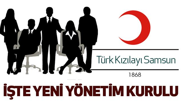 Türk Kızılayı Samsun Şubesinin Yeni Yönetim Kurulu...