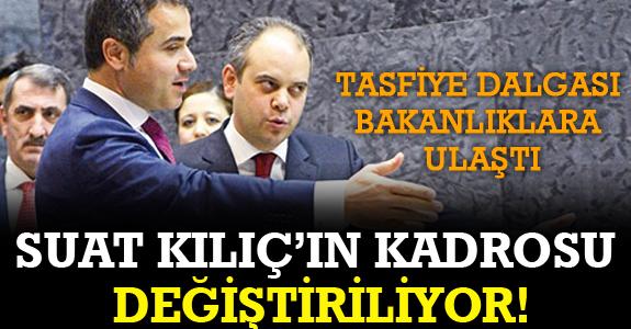 GENÇLİK VE SPOR BAKANLIĞI'NDA TASFİYE!