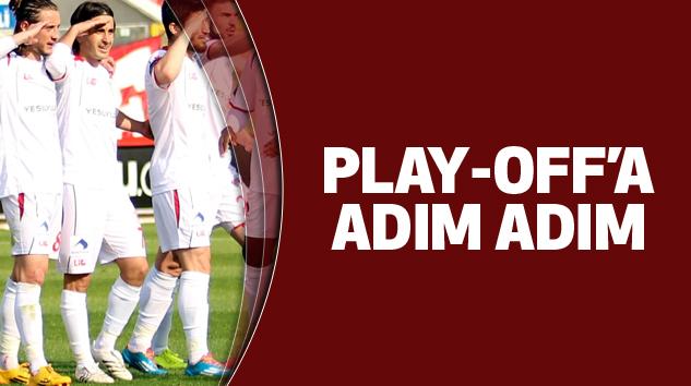 Samsunspor'da Play-Off'a Adım Adım...