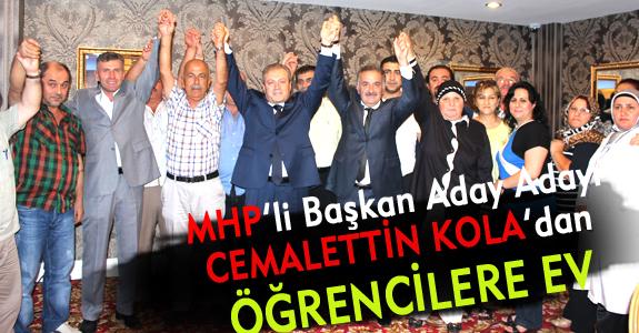 MHP'li Başkan Aday Adayı'ndan Öğrencilere Ev