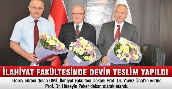İlahiyat Fakültesinde Dekanlık Devir Teslim Töreni Yapıldı