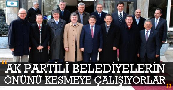 Tanrıverdi: AK Partili belediyelerin önünü kesmeye çalışıyorlar