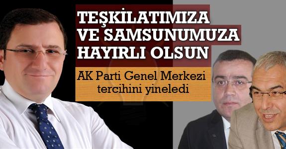 AK Parti Genel Merkezi tercihini yineledi