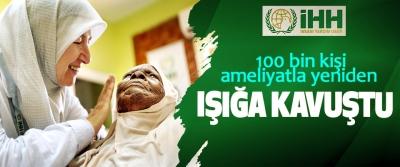 100 bin kişi ameliyatla yeniden ışığa kavuştu
