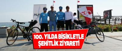 100. Yılda Bisikletle Şehitlik Ziyareti