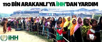 110 bin Arakanlı'ya İHH'dan yardım
