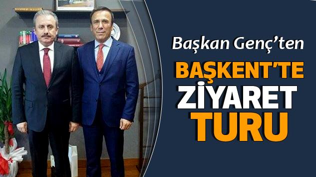 Başkan Genç'ten Başkent'te Ziyaret Turu