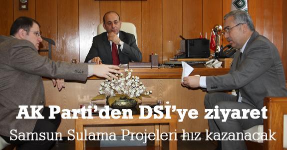 Samsun Sulama Projeleri hız kazanacak