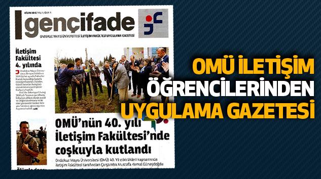 Omü İletişim Öğrencilerinden Uygulama Gazetesi