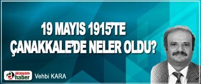 19 Mayıs 1915'te Çanakkale'de Neler Oldu?