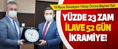 19 Mayıs Belediyesi Yılbaşı Öncesi Bayram Yeri