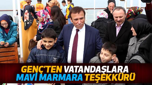 Genç'ten Vatandaşlara Mavi Marmara Teşekkürü