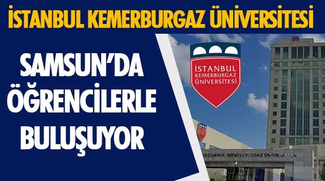 İstanbul Kemerburgaz Üniversitesi Samsun'da Öğrencilerle Buluşuyor