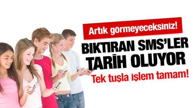 Android ve İphone SMS Engelleme Nasıl Yapılır? Reklam Mesajı istemiyorum