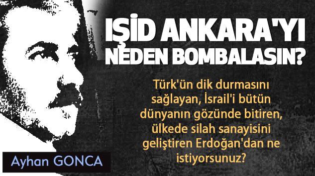 Işid Ankara'yı Neden Bombalasın?