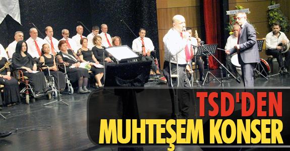 TSD'DEN MUHTEŞEM KONSER