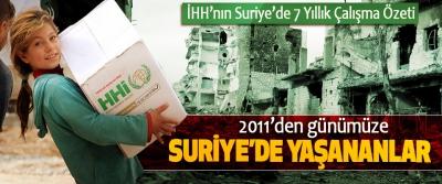 2011'den günümüze Suriye'de Yaşananlar