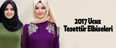 2017 Ucuz Tesettür Elbiseleri