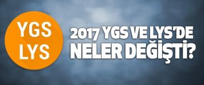 2017 Ygs Ve Lys'de Neler Değişti?