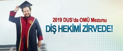 2019 DUS'da OMÜ Mezunu Diş Hekimi Zirvede!
